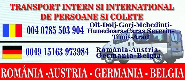 Rezervari bilete online Germania – Romania
